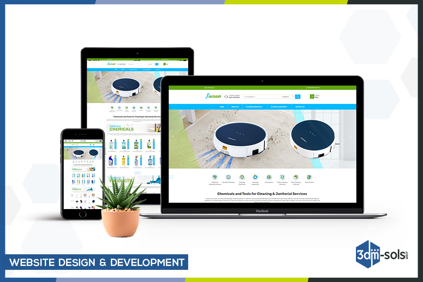 Alclean – Website Design and Development on WordPress