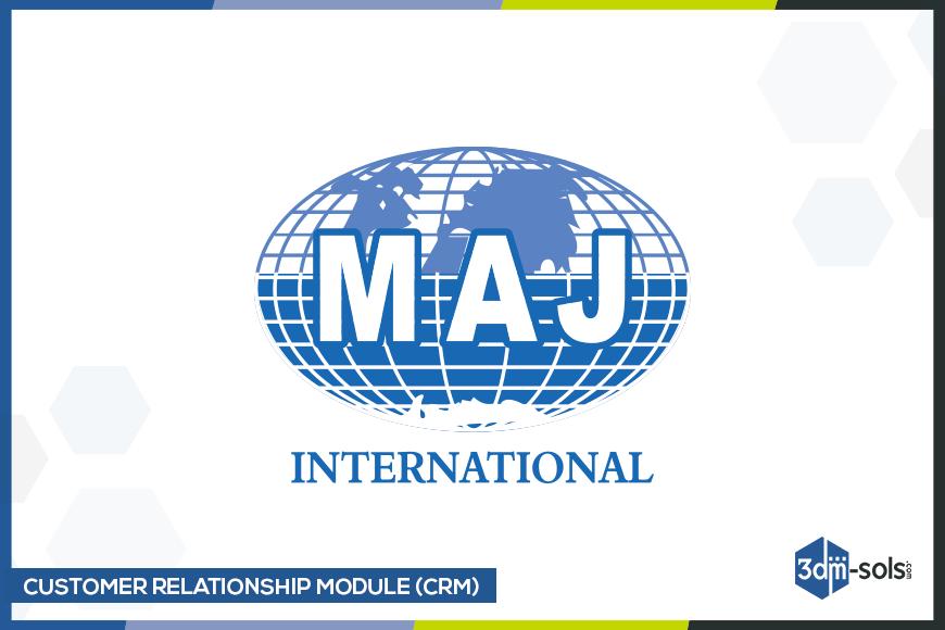 Collaboration with MAJ International – CRM Development