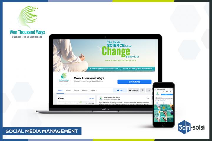 Social Media Management for Won Thousand Ways
