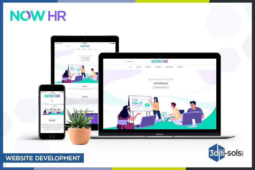 Website Development for Now HR